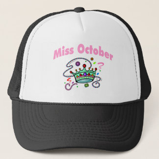 Miss October (2) Trucker Hat