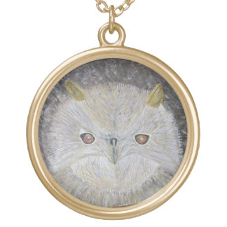 Miss Owl Gold Plated Necklace