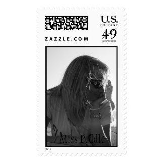 Miss Peddle Postage Stamp