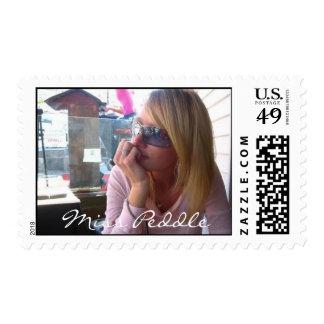 Miss Peddle Stamp