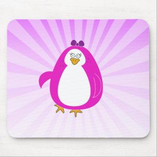 Miss Penguin Mousepad