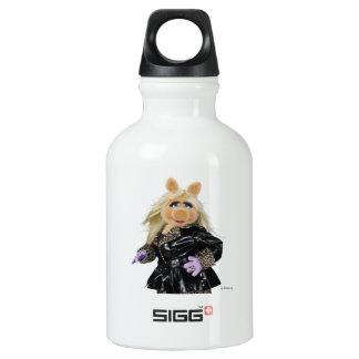 Miss Piggy 3 Aluminum Water Bottle