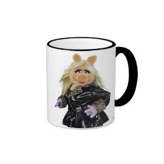 Miss Piggy 3 Ringer Coffee Mug