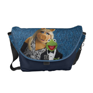 Miss Piggy and Kermit Courier Bag