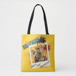 Miss Piggy and Kermit Hollywood Tote Bag