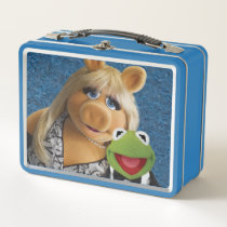 Miss Piggy and Kermit Metal Lunch Box
