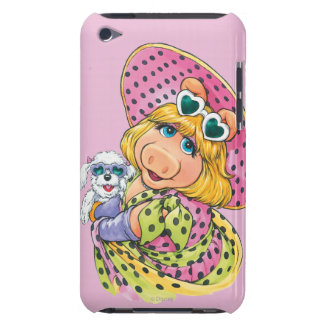 Miss Piggy Holding Puppy Barely There iPod Case