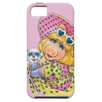 Miss Piggy Holding Puppy iPhone SE/5/5s Case