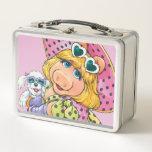 "Miss Piggy Holding Puppy Metal Lunch Box<br><div class=""desc"">The Muppets</div>"