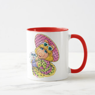 Miss Piggy Holding Puppy Mug