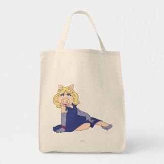 Miss Piggy in Purple Dress Tote Bag