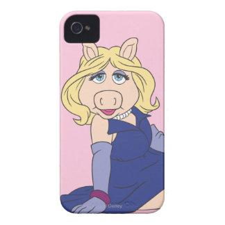 Miss Piggy in Purple Dress iPhone 4 Covers