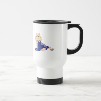 Miss Piggy in Purple Dress Travel Mug