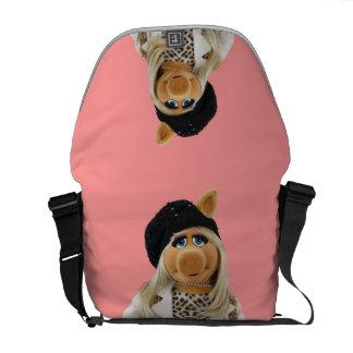 Miss Piggy Messenger Bags