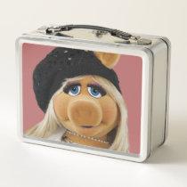Miss Piggy Metal Lunch Box