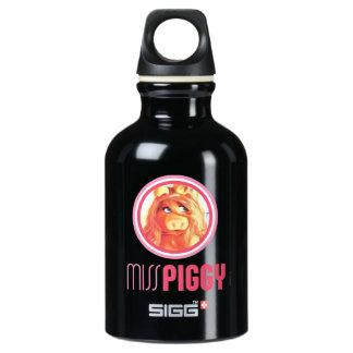 Miss Piggy Model Aluminum Water Bottle