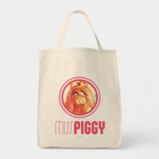Miss Piggy Model Canvas Bag