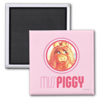 Miss Piggy Model Magnet