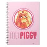 Miss Piggy Model Spiral Notebook