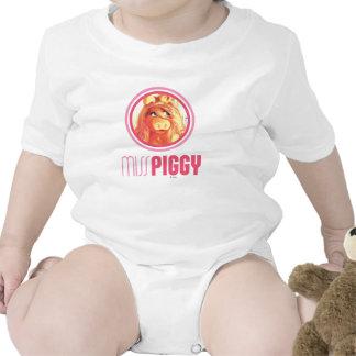 Miss Piggy Model Rompers