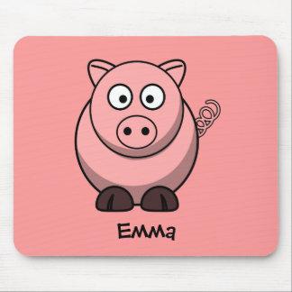Miss piggy mouse pad