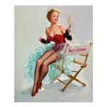 Miss Pin Up Poster