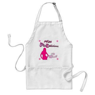 miss pinkalicious adult apron