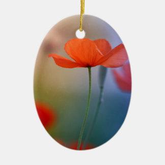 Miss Poppy Ceramic Ornament