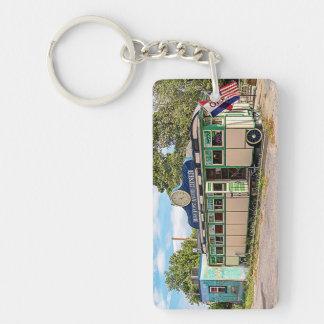 Miss Port Henry Diner, Port Henry, New York Keychain