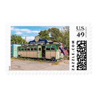 Miss Port Henry Diner, Port Henry, New York Postage
