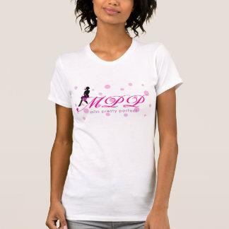 Miss Pretty Perfect Logo Husband Beater T-Shirt