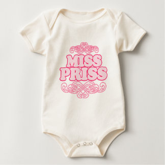 """Miss Priss"" on Hot Pink Polka-Dots Creeper"