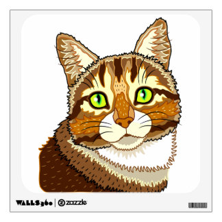 Miss Puddy Pat Wall Decal
