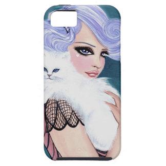Miss Pussy Cat Original Art IPhone 5 Case