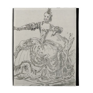 Miss Puvigne as The Living Statue, in Pigmalion, a iPad Folio Cover