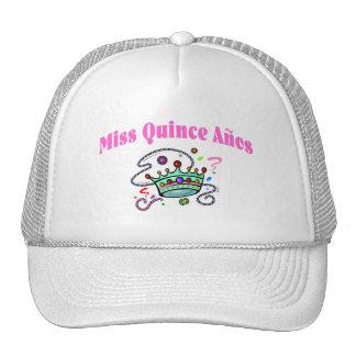 Miss Quince Anos Trucker Hat