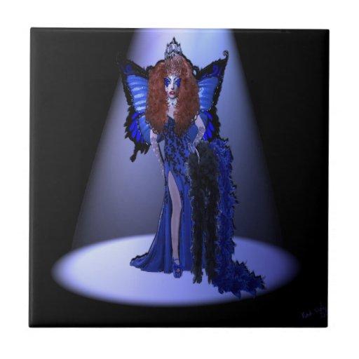Miss Regretsy Last Night Tile (Blue Muse)