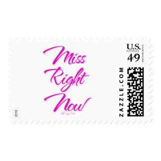 Miss Right Now Postage