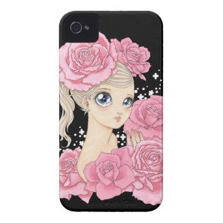 Miss Rose BlackBerry Bold case (pink/black)