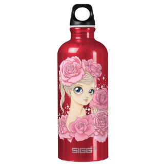 Miss Rose (pink/red) Water Bottle