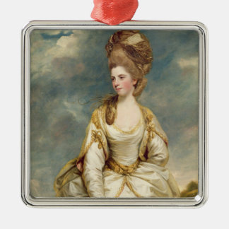 Miss Sarah Campbell, 1777-78 (oil on canvas) Metal Ornament