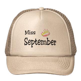 Miss September Trucker Hat