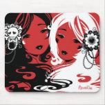 Miss Sugar and Miss Cyanide Mouse Mat