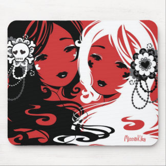 Miss Sugar and Miss Cyanide Mouse Pad