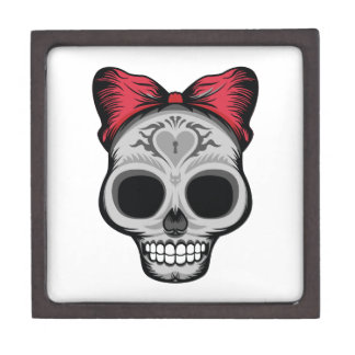 Miss Sugar Skull Jewelry Box
