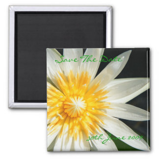 Miss Sunshine - Save The Date 2 Inch Square Magnet