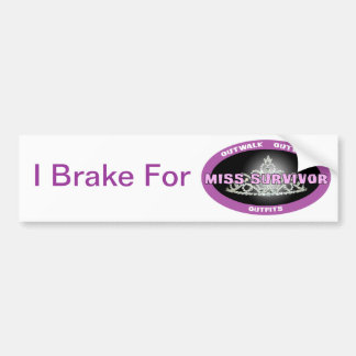 Miss Survivor Bumper Sticker