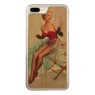 Miss Sylvania Pin-Up Girl Carved iPhone 8 Plus/7 Plus Case