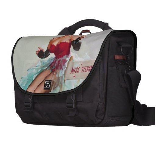 Miss Sylvania Pin-Up Girl Commuter Bags