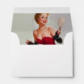 Miss Sylvania Pin-Up Girl Envelopes